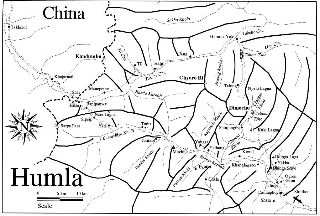 Humla vägen till Tibet