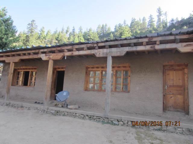 Nya huset med putsade väggar