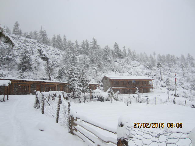 Skolhemmet i vinterskrud 640x480