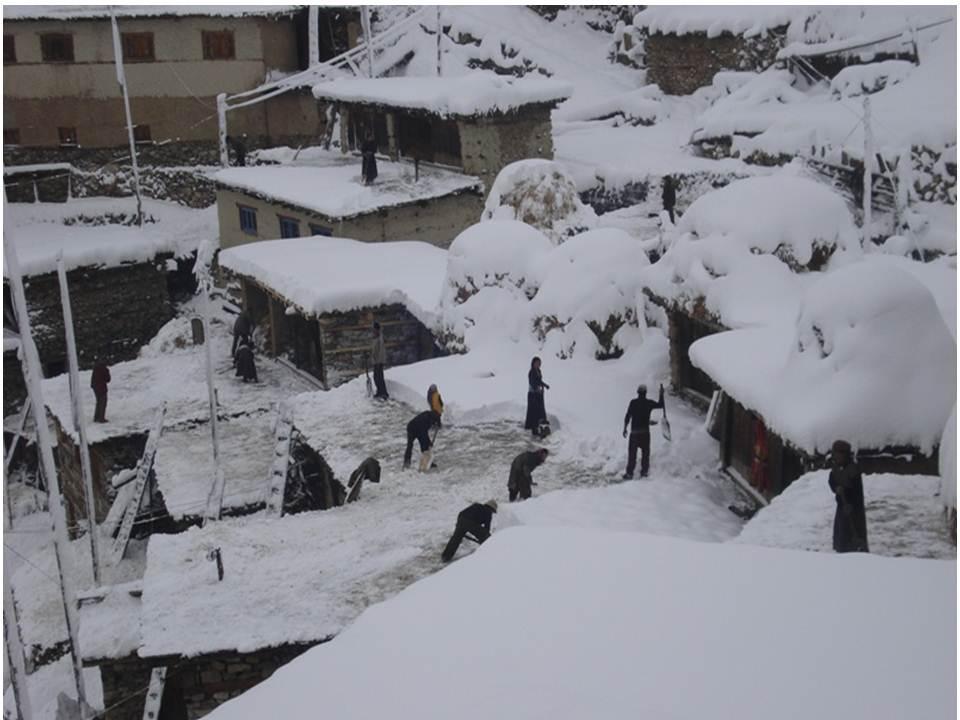 4 Snöbild från Yangar CL